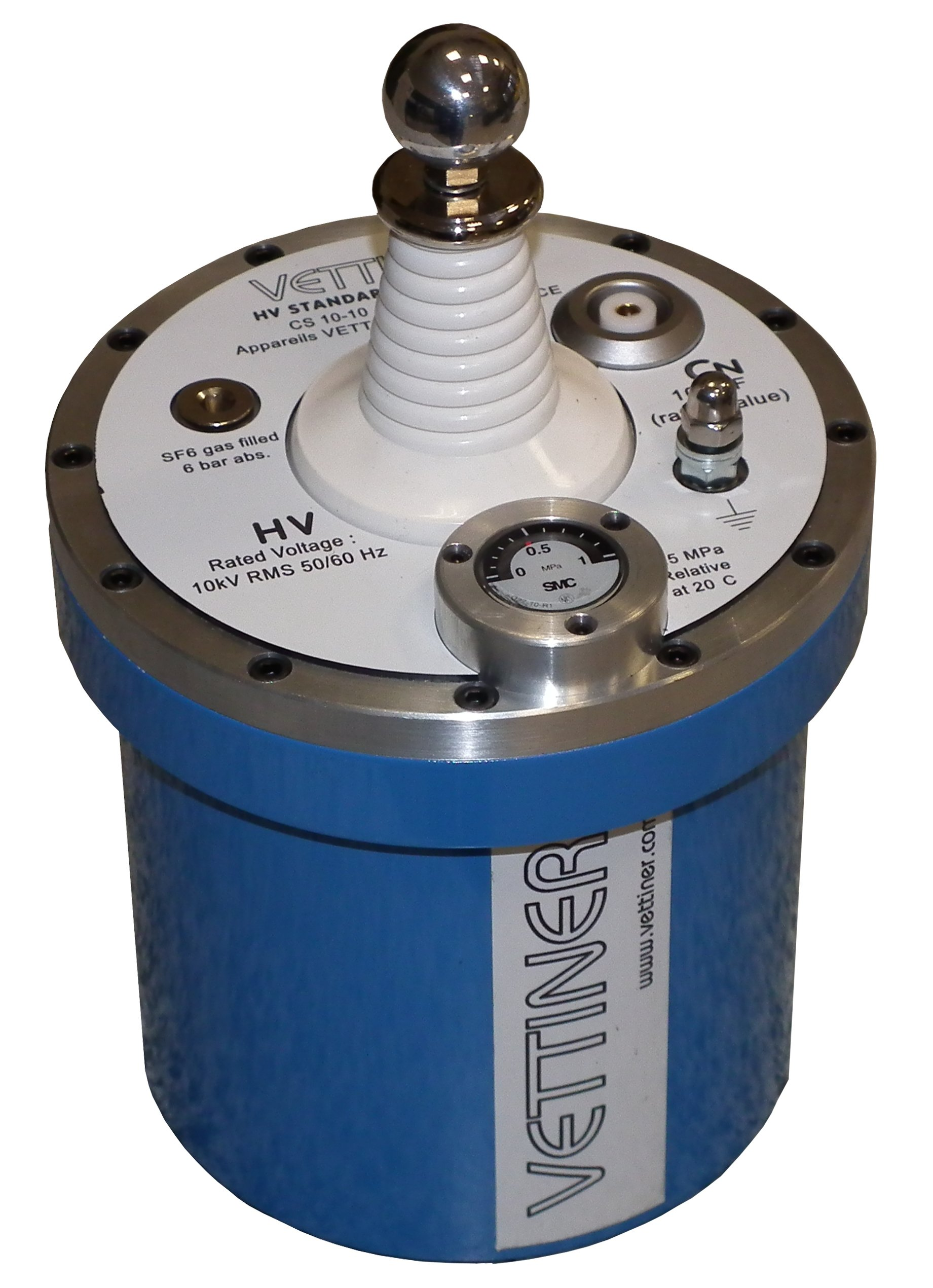 0 5 kV to 5 kV Reference standard capacitors, medium voltage