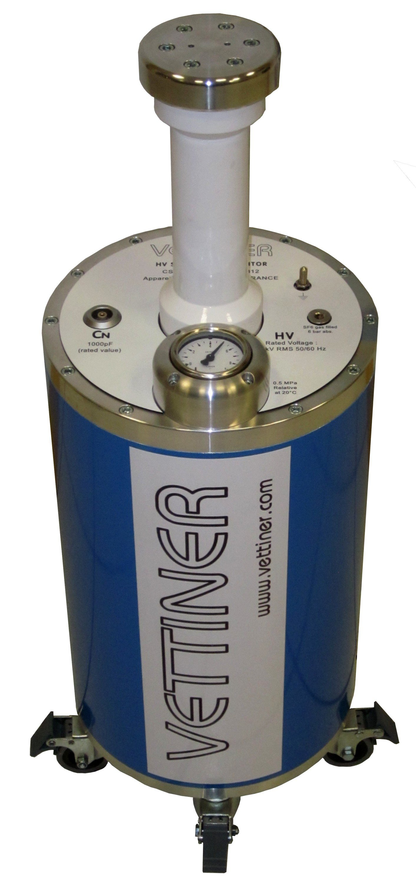 HV 0.5 kV to 100 kV high capacitance standard capacitors