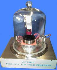 Test of solid dielectric insulants